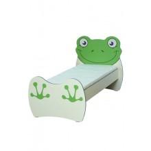 Кровать детская Мышонок (Лягушонок) 1432х770х828
