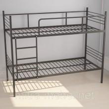 Кровать двухъярусная металлическая (1960х810х1560h)