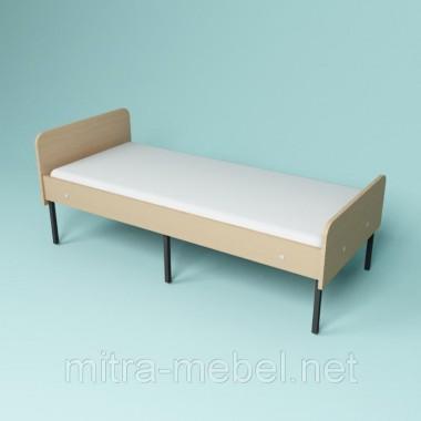 Кровать одноместная для общежитий Эконом