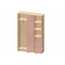 Шкаф для одежды K-132 (900*320*1860h)
