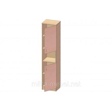 Шкаф книжный Ш-16 (300*320*1860h)