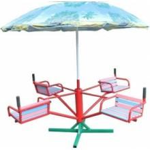 Карусель четырёхместная с зонтом КР-603