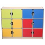 Шкаф детский универсальный Мозаика (1296х350х1040h)