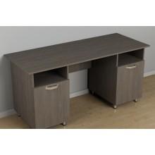 Двухтумбовый стол для офиса c-253 (1500*600*726h)