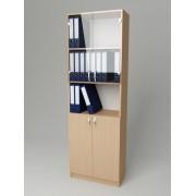 Шкаф для документов со стеклом K-113 (600*320*1860h)