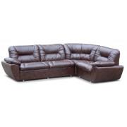 Офисный угловой диван Визит c подлокотниками (2750*2000*850h)