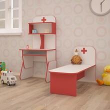Детская игровая стенка Больница (1200*400*1250h)