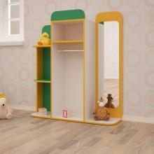 Уголок ряжения для детского сада (1000*300*1150h)