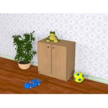 Шкаф детский закрытый Д-8 (600*320*650h)