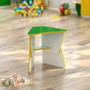 Стол детский Лепесток (560*405*h) регулируемый