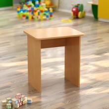 Стол детский одноместный (550*450*h)