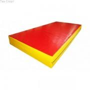 Страховочный мат 200-100-30 см , Цвет Red