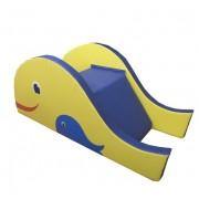 Мягкая горка-ступеньки Рыбка