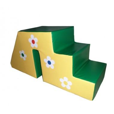 Горка-ступеньки Цветочек