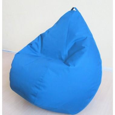 Кресло груша Оксфорд Голубой
