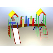 Детский спортивно-игровой комплекс Волна