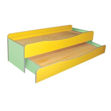 Детская двухъярусная кровать (1435*649(1249)*585h)