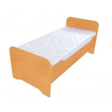 Одноместная детская кровать без матраца