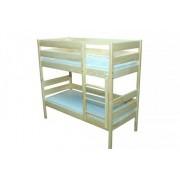 Двухярусная деревянная кровать без матраца (1456х688х1356)