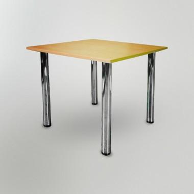Стол для столовой Хром (775*775*750h)