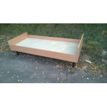 Кровать одноместная для общежитий 1940×840×585h