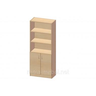 Шкаф книжный K-104 (600*320*1860h)