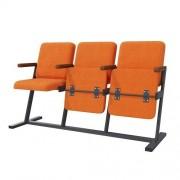 Кресла Аскет F-стойка с деревянным подлокотником