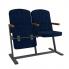 Кресла Классик F-стойка с деревянным подлокотником