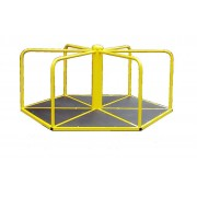 Карусель шестиугольная для катания стоя КР-608