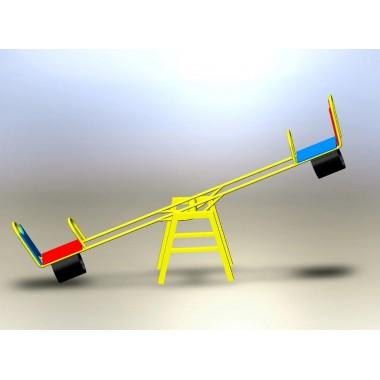 Качели-балансиры c амортизацией КБ-703/4-Р