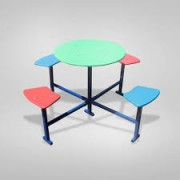 Столик для детской площадки четырёхместный СТ-301