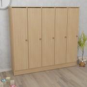 Шкаф детский пятисекционный (1520*250*1250h)