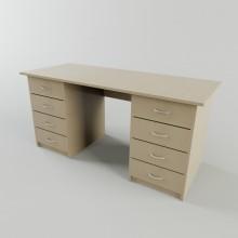 Двухтумбовый стол С-110а (1500*600*750h)
