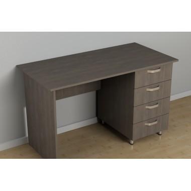 Офисный однотумбовый стол С-210 (1200*600*726h)