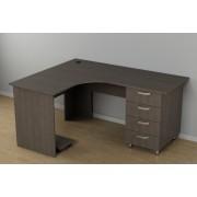 Офисный угловой стол c-230 (1500*1200*726h)