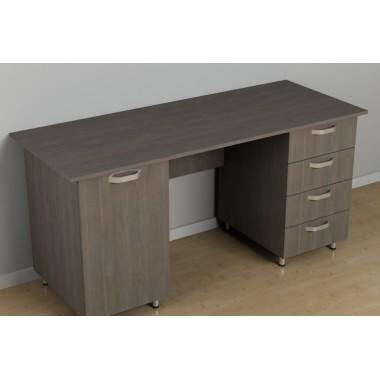 Офисный двухтумбовый стол С-255 (1500*600*726h)