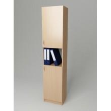 Шкаф для документов узкий K-126 (300*320*1860h)