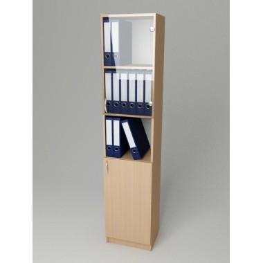 Шкаф для документов со стеклом K-130