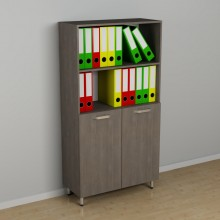Офисный шкаф для документов к-236 (600*330*1524h)