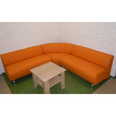 Офисный угловой диван Каролина 2250*800*680h