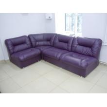 Офисный угловой диван Визит без подлокотников (2520*1750*850h)