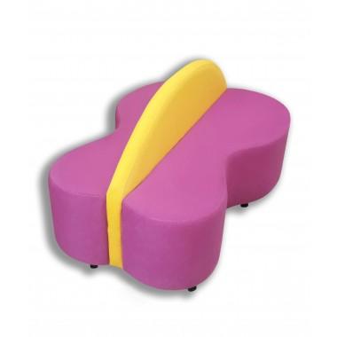 Детский игровой диван Бабочка (1300х850х630h)