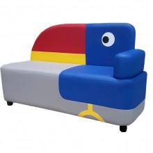 Детский игровой диван Тукан (1100х440х670h)