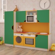 Детская игровая кухня Фиона 1600*430*1250h
