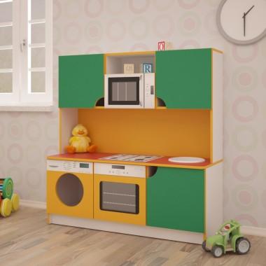 Детская игровая кухня Малютка 1200*430*1250h