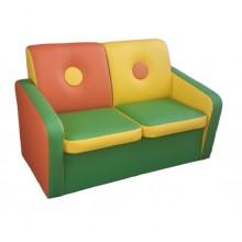 Детский игровой диван Пуговка-2 (950х550х670h)