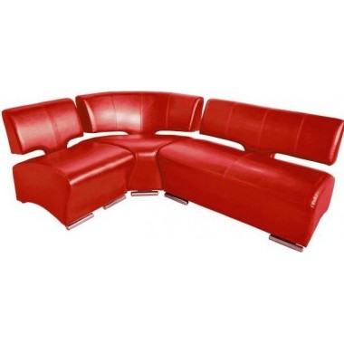 Офисный угловой диван Престиж 2060*1460*770h