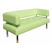 Офисный диван Ромб с подлокотниками 1520*620*760h
