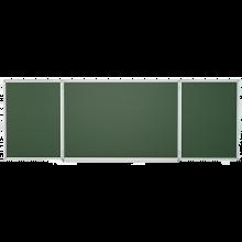 Школьная доска пятиповерхностная Эрудит 3000*1000