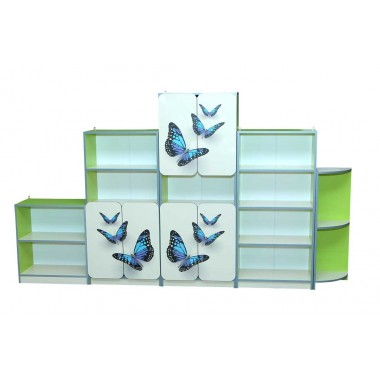 Стенка Бабочка-3Д из 5-ти элементов